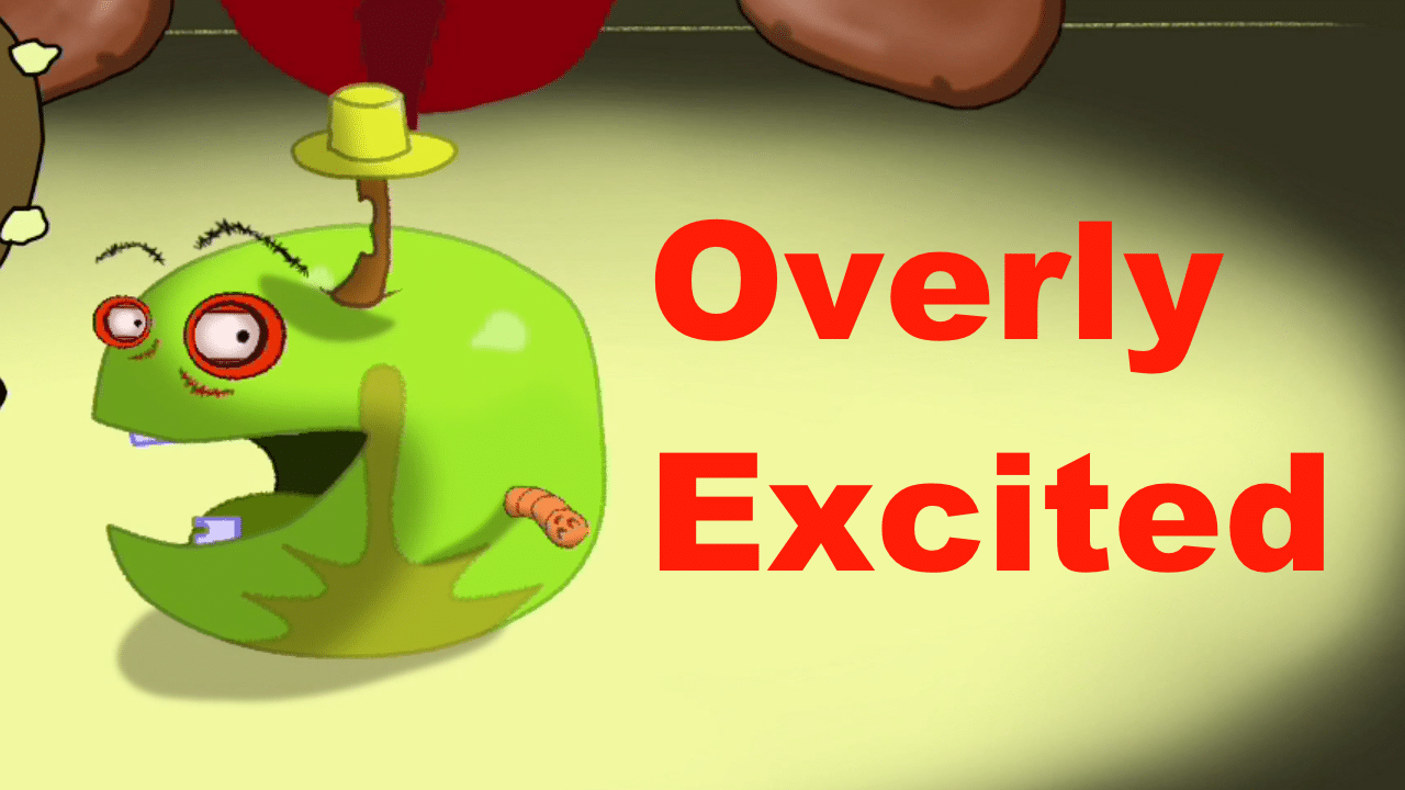 """Animated Short Film, """"Overly Excited Greeting of an Apple"""""""